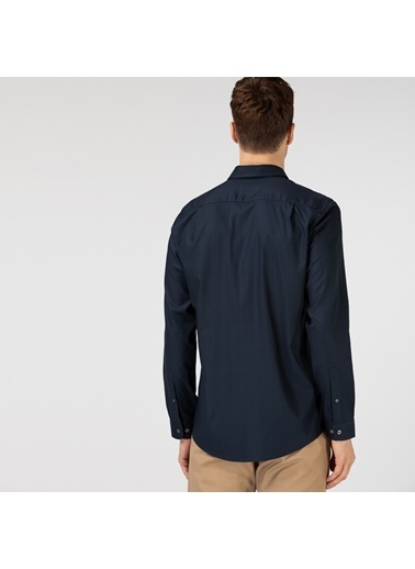 Lacoste Erkek Slim Fit Gömlek CH1843F.166 Lacivert